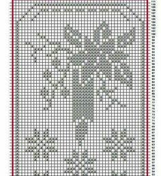 Crochet Patterns Filet, C2c Crochet, Christmas Crochet Patterns, Loom Patterns, Crochet Home, Crochet Stitches, Cross Stitch Cards, Cross Stitch Baby, Cross Stitch Designs