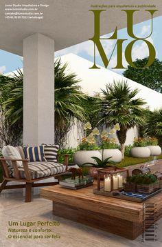 3ª edição #3dmax #coronarender #maqueteeletronica #photoshop #archviz #design #arquitetura Outdoor Rooms, Plant Decor, Home Deco, Woodworking Projects, Pergola, Terrace Ideas, Home And Garden, Cottage, Backyard