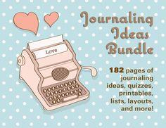 Journaling Ideas Bundle