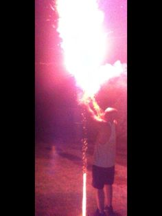 2014 New Year, big ass roman candle