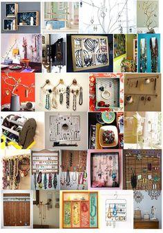 lotus tree crafts: jewelry storage ideas