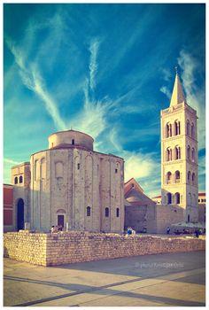 The Coolest City In The World #zadar #croatia #donat