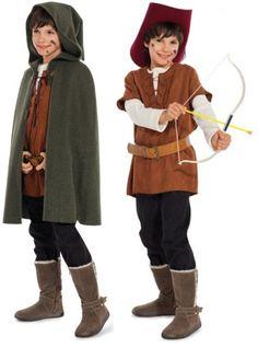 Boys' Robin Hood Costume Pattern [b 9472] - £5.85 : habithat.co.uk ...