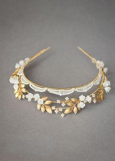 DUET delicate wedding tiara 3 Headpiece Wedding, Bridal Headpieces, Wedding Crowns, Wedding Hair, Bridal Crown, Bridal Tiara, Metal Headbands, Crystal Crown, Colored Wedding Dresses