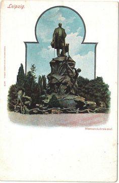 AK Leipzig - Bismarckdenkmal / Um 1910