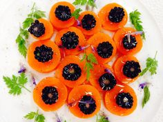 Alain Passard @ArpegeLive  · Salade carottes-mûres