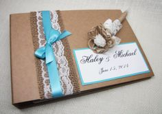 Hey, I found this really awesome Etsy listing at https://www.etsy.com/listing/184771725/rustic-wedding-guest-book-kraft-with