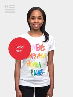 Tory Burch Tee - Women's rights are human rights - HRC