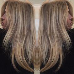 Forever loving my hair @chloeleeward  Creamy beige balayage blend and 100% human tape hair extensions