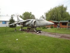 Movie Harrier Jet as seen in the movies True Lies and The Avengers,at the Volo Auto Museum, Volo, IL.   www.volocars.com