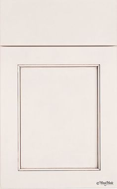 Brookhaven/Cabinet Innovations for cabinets - Square Edge Winfield Recessed Square, Color: Slivered Almond with Espresso Glaze
