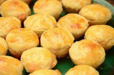 Irresistíveis! Deliciosas, bem pequenas, tamanho boca para ir comendo sem parar!