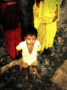 Delhi Slum Child