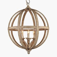 Shop for AA Warehousing Hercules 4 Light Chandelier in Wooden Globe Frame. Get free delivery On EVERYTHING* Overstock - Your Online Ceiling Lighting Store! Get in rewards with Club O! Modern Chandelier, Candle Chandelier, Chandelier Lighting, Driftwood Chandelier, Rustic Lighting, Home Lighting, Farmhouse Lighting, Lanterns, Furniture
