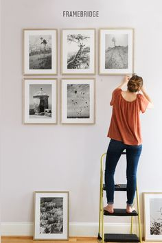The most popular gallery walls on Pinterest. Just add your own photos. Design in 5 minutes. Hang in 10.