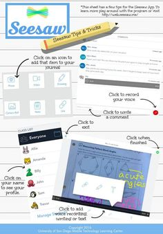 Seesaw App Tips & Tricks | Piktochart Infographic Editor