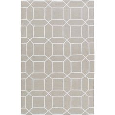 Charlton Home Larksville Hand-Woven Gray Outdoor Area Rug Rug Size: 9' x 13'