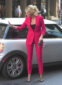 Pink suit  #womensfashion  http://www.roehampton-online.com/?ref=4231900