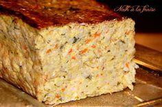 terrine de poireaux, carottes, lentilles corail et flocons d'avoine