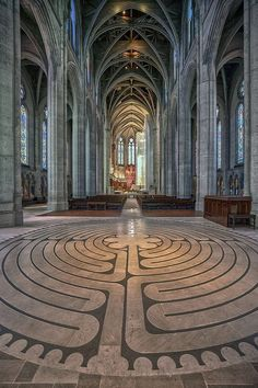 The Labyrinth at Chartres Cathedral is shrouded in mystery and myth, but the popular destination for Christian pilgrimage is nothing short of a masterpiece. Visit Vancouver, Vancouver Bc Canada, Vancouver Travel, Montreal Canada, Vancouver Island, Go Volunteer, Travel Oklahoma, Free Things To Do, New York Travel
