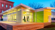 Perkins + Will's Prefab Sprout Spaces - Green Eco-Friendly Classrooms