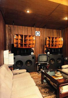 vintage listening room - Google Search
