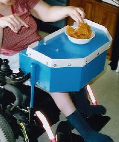 Great resource for homemade adaptive devices and therapy resources. Not all adaptive equipment has to be expensive. This relates back to independent living. Pediatric Occupational Therapy, Pediatric Ot, Assistive Technology, Home Technology, Mobiles, School Ot, Adaptive Equipment, Cerebral Palsy, Special Needs Kids