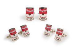 Campbell's Soup Cufflinks