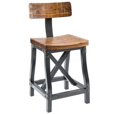 Ink+Ivy Lancaster Counter Stool
