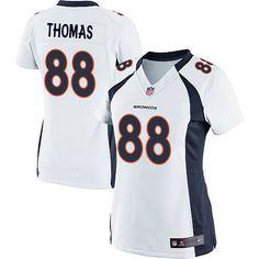 Demaryius Thomas Elite Jersey-80%OFF Nike Demaryius Thomas Elite Jersey at Broncos Shop. (Elite Nike Women's Demaryius Thomas White Jersey) Denver Broncos Road #88 NFL Easy Returns.