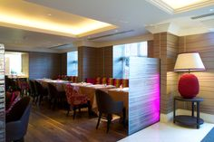The Forbury Hotel Lighting by Lighting Design International.