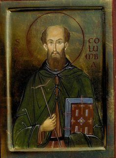 Ορθόδοξος Άγιος Κολούμπα, Ηγούμενος Μονής στη Νήσο Ιόνα (δυτικά της Σκωτίας). Εορτή: 9 Ιουνίου. Orthodox Venerable Columba, Abbot of Iona,Scotland(†597). Feast Day: 9th June