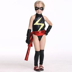 Ms. Marvel Kids F... available.  Check out the product: http://bestofsuperhero.com/products/ms-marvel-kids-faux-leather-black-jumpsuit?utm_campaign=social_autopilot&utm_source=pin&utm_medium=pin  #bestofsuperhero