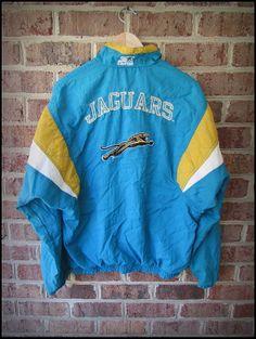 Vintage 90\'s Starter NFL Jacksonville Jaguars Jacket by RackRaidersVintage, $25.00