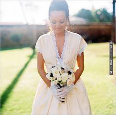 cream wedding dress   CHECK OUT MORE IDEAS AT WEDDINGPINS.NET   #weddingfashion