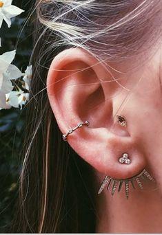 10 perforaciones originales para la oreja