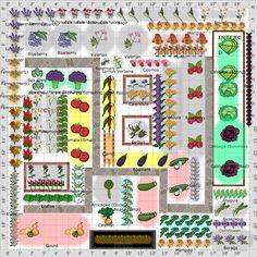 Hort 100 garden plan