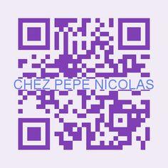 QR-CODE Для меню ресторана Chez Pepe Nicolas - сканируй и получи меню на своем языке ! :) #mycodemenu & #GourmetFeastVoyage