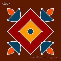 This page provides Dot Rangoli Designs and Patterns for Hindu festivals. In Tamil Nadu Rangoli is known as Kolam, Mandana in Rajasthan, Chowk Purna in Northern India, Alpana in West Bengal, Aripana in Bihar and Muggu in Andhra Pradesh. Easy Rangoli Designs Diwali, Rangoli Simple, Rangoli Designs Latest, Simple Rangoli Designs Images, Rangoli Designs Flower, Free Hand Rangoli Design, Rangoli Border Designs, Small Rangoli Design, Rangoli Patterns