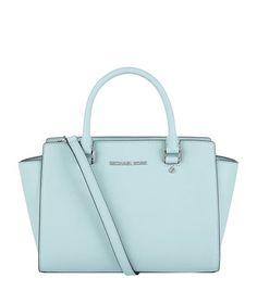 MICHAEL MICHAEL KORS Small Selma Satchel. #michaelmichaelkors #bags #shoulder bags #hand bags #leather #satchel #