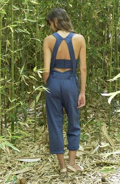 """ALIS jumpsuit Organic cotton GOTS certified Spring Summer 17  Collection nº9  """"Heaven lab"""" organic comfort wear by Suite 13"""