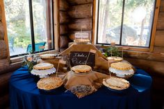 Who needs wedding cake when you can have wedding pies!
