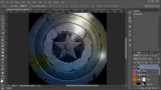 #photoshop tutorial showing you how to create The Captain America: Winter Soldier Movie poster! It's an amazing tutorial, check it out!