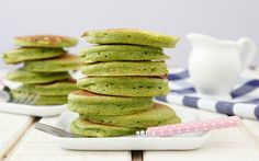 Spinach+Pancakes+on+Weelicious