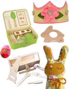 Easter gift ideas via Lauren @ with two cats for Spearmint Baby