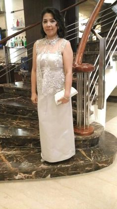 Principal sponsor Ninang gown simple style  gowns in