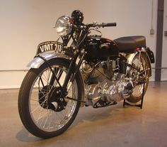 One of only 15 ever produced, this 1950 Vincent Series C White Shadow was sold for...