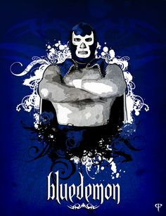 blue demon by ~kimbal on deviantART