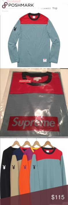 Supreme x Playboy L/S Brand new still in packaging comes with box logo sticker Supreme Shirts Tees - Long Sleeve