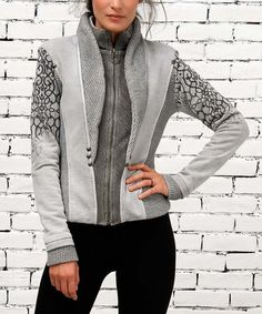 Love this Bison Zip-Up Jacket by Angels Never Die on #zulily! #zulilyfinds